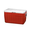 Coleman 48QT Polylite 塑料冰箱 - 紅色