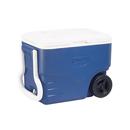 Coleman 40QT 塑料有轆冰箱 - 藍色