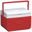Coleman 5QT Poly.FlipLid™ 塑料冰箱 - 紅色