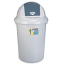 新海洋 GEO60 圓膠搖蓋垃圾桶 60L
