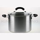 美亞 24cm 不銹鋼有蓋湯煲 (7.6L)
