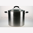 美亞 28cm 不銹鋼有蓋湯煲 (15.1L)