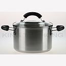 美亞 20cm 不銹鋼有蓋湯煲 (3.8L)