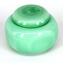 深翡翠綠茶葉罐