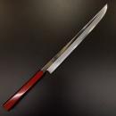 (約3~6個月訂貨期)景清白一鋼330mm劍柳刃連鞘