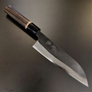日野浦司白二鋼三德刀165mm