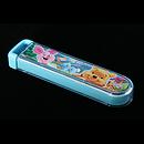 小熊維尼透明拉蓋餐具盒連(筷子、叉、匙)