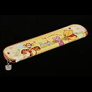 小熊維尼黃色餐具盒