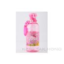 Hello Kitty 400ml 粉紅色水壼連飲管