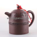 雅寶飄香紫砂茶壺