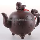 龍鳳呈祥紫砂茶壼