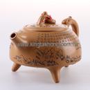 春花月夜紫砂茶壺