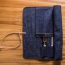 West Japan Tools 牛仔布捲刀袋