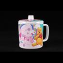 """Pooh Loves U - 小熊維尼 4"""" 耳杯連蓋"""