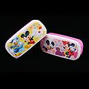 迪士尼米奇粉紅色2層飯盒