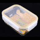 Komax BIOGLASS 820ml 長方形玻璃密封食物盒