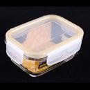 Komax BIOGLASS 385ml 長方形玻璃密封食物盒