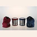 三光蘇香K-850B 二層高真空不銹鋼保溫飯盒 (有袋)