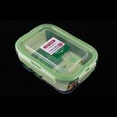 Asvel unix ware 750ml 4Lock 玻璃密封食物盒 - 綠色