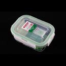 Asvel unix ware 320ml 4Lock 玻璃密封食物盒 - 白色