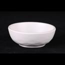 """白色陶面 4"""" 圓形醬油碟"""