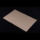 高貴PVC編織餐墊 - 格仔 - 銅色