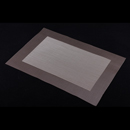 高貴PVC編織餐墊 - 長方形格 - 啡色