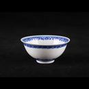 """青花瓷米通 3.5"""" 反口翅碗"""