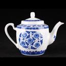 青花瓷米通西式茶壺