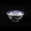 """青花瓷山水 3.5"""" 反口翅碗"""