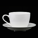 白骨瓷早餐杯連碟