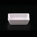 """白科學瓷3""""方形醬油碟"""