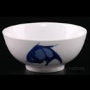 """加白藍鯉魚6""""企口碗"""