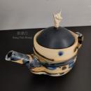 West Japan Tools Rock and Pot 崇行手工茶壺