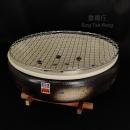 日本製萬古燒伊勢陶瓷炭烤爐 #7 21cm