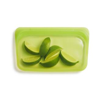 Stasher 矽膠密實袋 Snack - 青檸綠