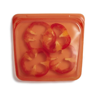 Stasher 矽膠密實袋 Sandwich - 柑橘橙