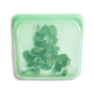 Stasher 矽膠密實袋 Sandwich - 薄荷綠