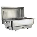 83系列 1/1 長方形不銹鋼電熱自助餐爐,雙食物盆