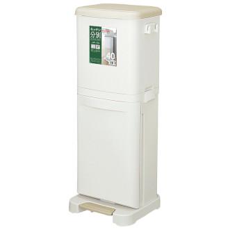 Asvel 膠雙層環保垃圾桶 40L