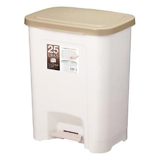 Asvel Eban 日本塑膠垃圾桶(橫向式) 25L