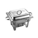 Regal 彎腳 1/2 長方形不銹鋼自助餐爐,可疊型