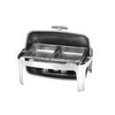 X32系列 1/1 長方形不銹鋼全翻蓋式自助餐爐,雙食物盆