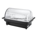 82系列 1/1 長方形電熱自助餐爐 (無腳架),透明PC翻蓋