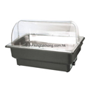 EcoCater 系列 1/1 長方形電熱自助餐爐 (無腳架),透明PC翻蓋
