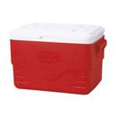 Coleman 36QT 塑料冰箱 - 紅色