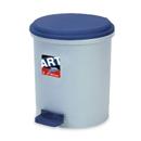 新海洋 410 圓膠腳踏垃圾桶 5L