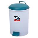 新海洋 412 圓膠腳踏垃圾桶 18L