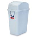 新海洋 414 長方膠搖蓋垃圾桶 32L