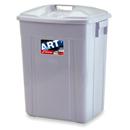 新海洋 416 長方膠垃圾桶連蓋 42L